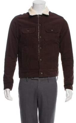 Rag & Bone Fleece-Lined Corduroy Jacket