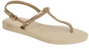 Women's Havaianas Freedom Crystal Sandal $42 thestylecure.com