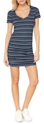 Michael Stars Kali Striped T-Shirt dress