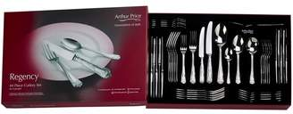 Arthur Price 'Regency' 18/10 Stainless Steel 44 Piece 6 Person Boxed Cutlery Set For Luxury Home Dining