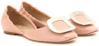 Roger Vivier Chips patent leather ballerinas