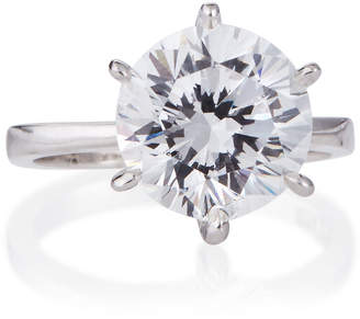 FANTASIA Round-Cut Solitaire CZ Ring