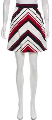 Dolce & Gabbana Striped Jacquard Skirt w/ Tags