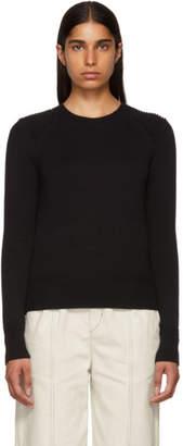 Etoile Isabel Marant Black Kleeza Crewneck Sweater