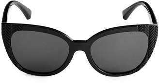 Ralph Lauren 56MM Butterfly Sunglasses