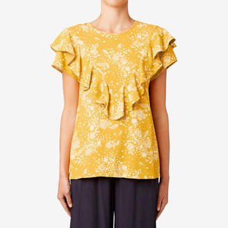 Seed Heritage Frill Detail Top
