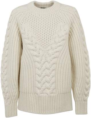 Alexander McQueen Cable-knit Oversized Sweater