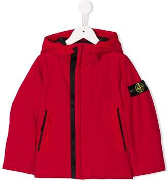Stone Island Junior hooded jacket