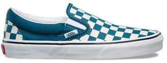 Vans Classic Checkerboard Slip-On In Corsair