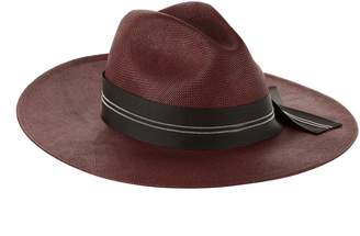 Brunello Cucinelli Embellished Ribbon Hat