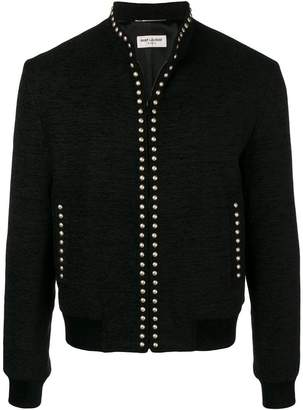 Saint Laurent studded jacket