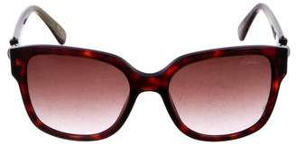 Lanvin Embellished Tortoiseshell Sunglasses