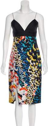 Nicholas Structured Midi Dress