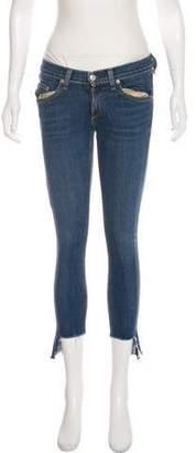 Rag & Bone Capri Low-Rise Straight-Leg Jeans