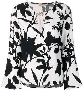 Liu Jo 'leaves' print blouse