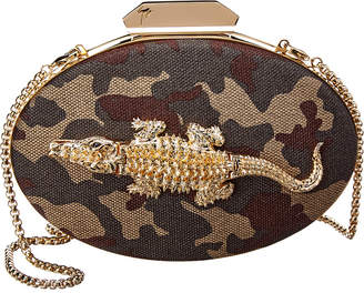 Giuseppe Zanotti Embellished Leather Clutch