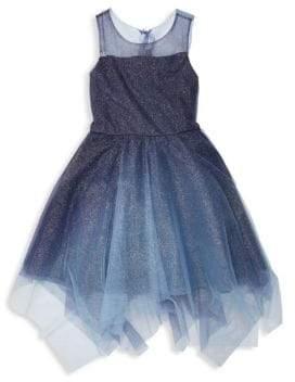 Zoe Girl's Suzy Ombre Shimmer Dress