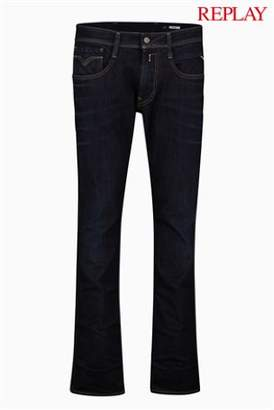 Next Mens Replay Anbass Slim Fit Stretch Jean