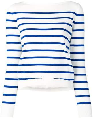Blugirl stripe fitted sweater