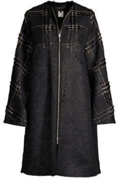 Lafayette 148 New York Alverna Plaid Coat