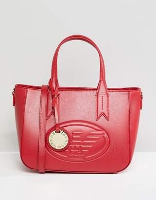 Emporio Armani Signature Mini Zip Bag