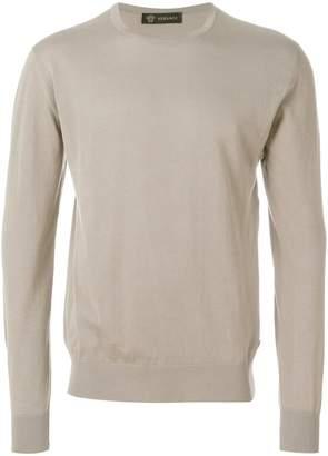 Versace round neck jumper