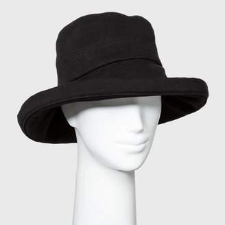 A New Day Women's Twill Kettle Bucket Hat Black