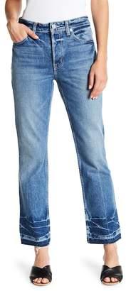 Helmut Lang Frayed Released Hem Jeans