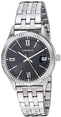 Bulova Caravelle Women's Quartz Stainless Steel Dress Watch