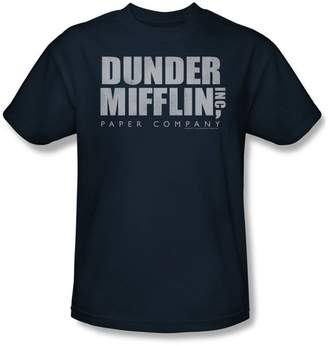 Office The Dunder Mifflin Distressed Adult T-Shirt In
