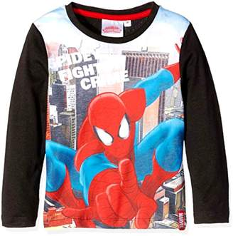 Spiderman Generic Kids Official Marvel Ultimate Long Sleeve T-Shirt Ages 3-8