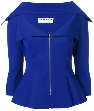 Chiara Boni Le Petite Robe Di zipped up fitted jacket