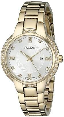 Pulsar Women's PJ2014 Analog Display Japanese Quartz Gold Watch