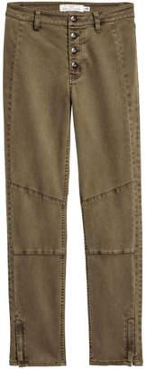 H&M Lyocell-blend Pants - Green