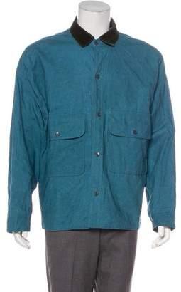 Mens Corduroy Collar Jacket Shopstyle