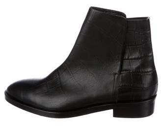 Jenni Kayne Embossed Leather Ankle Boots