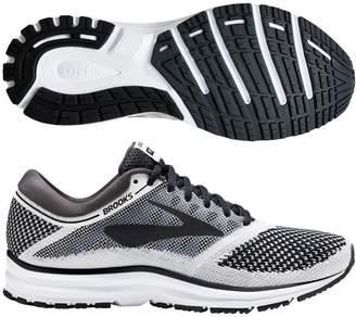 Brooks Women's Revel Running Shoe (BRK-120249 1B 40214F0 12 WHT/ANT/BLK)