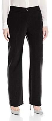 Briggs New York Women's Petite Straight-Leg Pant
