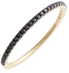 Women's Bony Levy 'Stackable' Straight Diamond Band Ring (Nordstrom Exclusive) $695 thestylecure.com