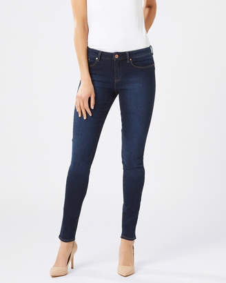 Jeanswest Butt Lifter Skinny Brushed Indigo