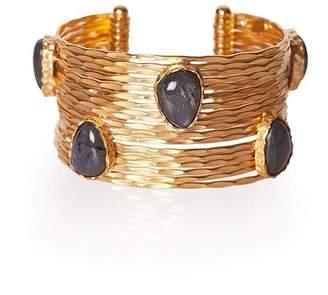 Christina Greene - Wire Stackable Cuff in Labradorite
