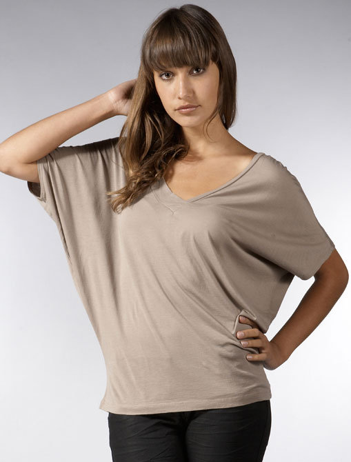 Rebecca Beeson Batwing Top in Walnut