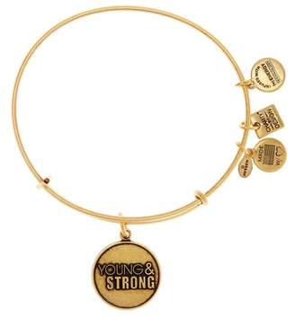 Alex and Ani Charity By Design Young & Strong Expandable Bracelet