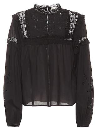Ulla Johnson Vero cotton blouse