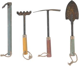 A&B Home Set Of 4 Garden Tools
