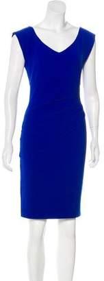 Diane von Furstenberg Pleat-Accented Mini Dress