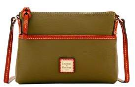 Dooney & Bourke Pebble Grain Ginger Pouchette