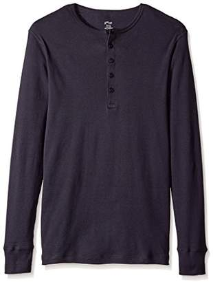 2xist Men's Essential Long Sleeve Henley