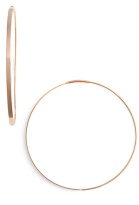Women's Lana Jewelry 'Flat Magic' Medium Hoop Earrings $395 thestylecure.com