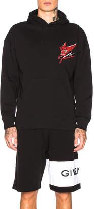 Givenchy Dragon Hoodie in Black   FWRD